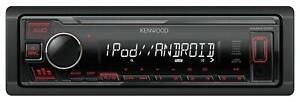 Kenwood KMM-205 - MP3-Autoradio mit USB / iPod / AUX-IN