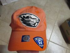 Oregon State Beavers Top Of The World Slouch Fit (Adjustable) Hat Nwt $25 Orange