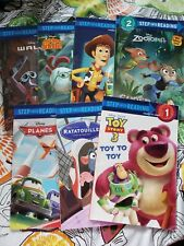 Lot of 7 Step Into Reading Disney Early Reader Books