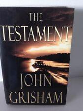 The Testament by John Grisham hardback with dust jacket