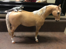 Breyer CM Custom-Palomino Nursing Mare and Kitten