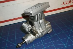 RARE  (NEW) -OS MAX .50 SR R/C  MODEL AIR / HELICOPTER ENGINE, COMPLETE, NO MUFF