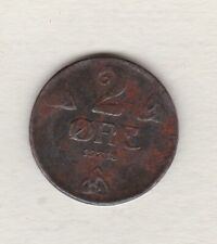 More details for 1918 norway iron 2 ore in very fine condition.