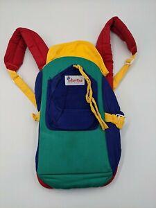 Multi-Rainbow Color Baby Infant Carrier Adjustable Strap's & Waist Belt