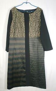 Marina Rinaldi by Max Mara Dress Size 29_US 20W_UK 24_DE 50_IT 58 XL Premium