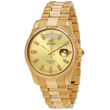 Enicar Prestige Gold-tone Dial Automatic Mens Watch 3169/50/330PS
