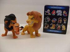 Funko Mystery Mini Disney Heroes Villains Hot Topic The Lion King Simba Scar Lot