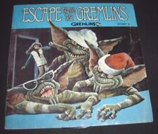 Escape from the Gremlins 1984 Book and Record