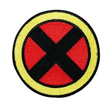Retro X-Men Team Costume Logo Iron-On Patch Marvel Comics Cosplay Craft Applique