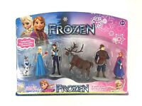 6 Pieces Frozen Anna Elsa Olaf Figurine Figure Play Set Cake Topper