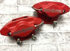 MG TF / MGF /  LE500 BRAND NEW RED 2 POT AP CALIPERS AND BRAKE PADS