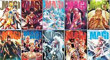 Magi The Labyrinth of Magic MANGA Series Collection Set Books 11-20 BRAND NEW!