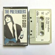 THE PRETENDERS  Get Close 1986 Album / Cassette TAPE