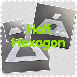 "10"" Half Hexagon two styles"