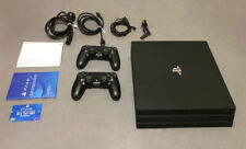 Sony PlayStation 4 Pro 1TB Consola con 2 Controles Dualshock - Negro