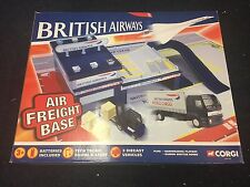 CORGI ty87705, British Airways, aereo di merci di base, Playset