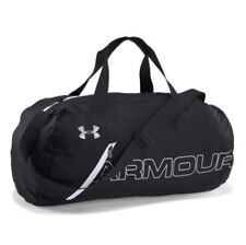 Under Armour * Packable Duffel Black Foldable Water Repellant Bag COD PayPal