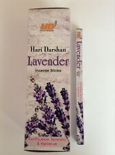 Wholesale Hari Darshan Ethical Incense 25 x 8 Stick Box Pack Lavender Fragrance
