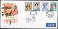 HM Queen Mother's 90th Birthday Commemorative Cover &  Stamps SG1507 to SG1510