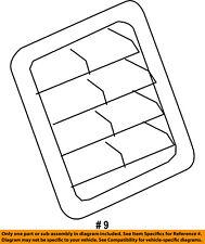 CHRYSLER OEM Side Panel-Pressure Vent 68260545AA