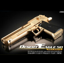 Academy Desert Eagle 50 Gold Special Edition Airsoft /6mm  Hand Grips Toy +400bb