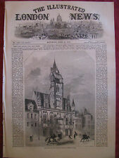 ILLUSTRATED LONDON NEWS 1860 Compiegne France, Switzerland, Bengal, Monaco