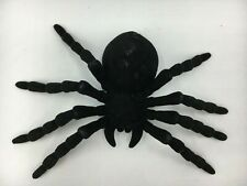 TARANTULA BLACK SPIDER plastic scary toy insect  bug