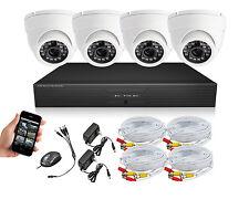 Surveillance Cameras system, dvr kit, security camera 4 CH H.264 Smartphone