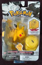 Pokemon Attack Figure B & W Series #2 Pikachu - Sealed Retail Package