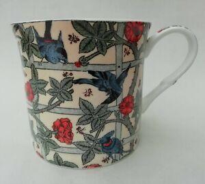 Heath McCabe William Morris Trellis Style Pattern Bone China Mug