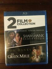 Green Mile, Shawshank Redemption 2 Film Collection (Blu-ray) New