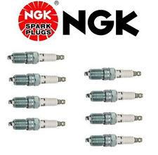 Set of 8 NGK TR55 V-Power Premium Copper Spark Plugs for Ford E-150 Econoline