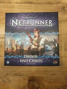 Android Netrunner LCG Order and Chaos Expansion Card Game