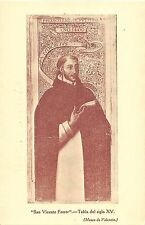 BR70752 san vincente ferre tabla del siglo X   painting valencia postcard  spain