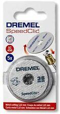 Dremel Sc456 Set 5 Dischi da taglio per metallo