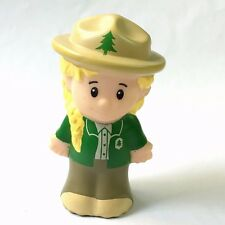Fisher-Price Little People Park Ranger outdoors Figure Toy QA306