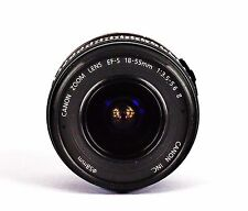 CANON ZOOM EF-S 18-55mm f3.5-5.6 II LENS. CHECKED AND TESTED. PLEASE READ.