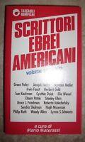 MATERASSI - SCRITTORI EBREI AMERICANI - VOLUME SECONDO - ED:BOMPIANI - 1989 (BU)