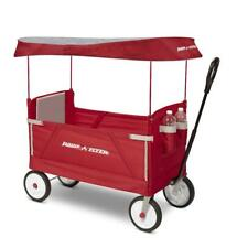 Radio Flyer Deluxe 3-in-1 EZ Fold Wagon with Canopy