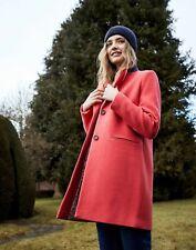 Joules Womens Walton Crombie Coat - Poppy - 24