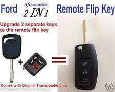 FORD Transponder Remote & Flip Key BA Falcon XT ST SX Territory FPV XR6 XR8 MK2