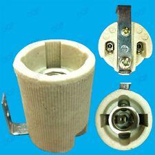 10x Small Edison Screw E14 SES Ceramic Socket Light Bulb Bracket Lamp Holders