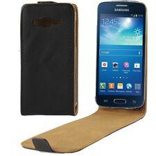 Samsung G386 Galaxy Core 4G - Housse Etui à Clapet Ultra Fin - Noir