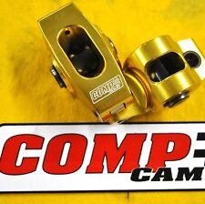 Comp Camss Ultra-Gold Aluminum Roller Rocker Arms Sbc 1.6 Rockers 7/16 Arm