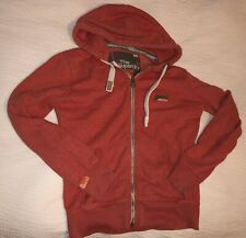 Mens Wear Small SUPERDRY Fashion Zip Hoody Jacket Casual Summer Lounge Top