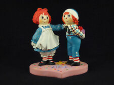 "Danbury Mint Raggedy Ann & Andy ""Birthday Surprise"" Figurine"