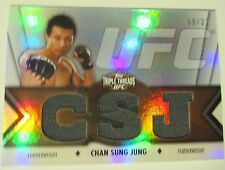Chan Sung Jung 2013 Topps UFC Knockout Triple Threads Relic 8/27 Korean Zombie