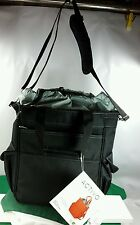 """Picnic Time Activo Cooler Tote Black NWT 11 x 6 x 14"""" tall Shoulder strap"""