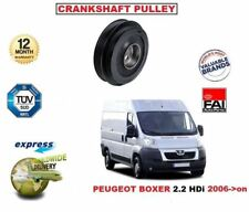 Tvd Cigüeñal Correa Polea de para Peugeot Boxer 2.2 HDI 2006- > en Adelante OE