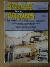 Scale Model Trains - September 1988
